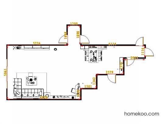 平面布置图乐维斯系列客餐厅G13428