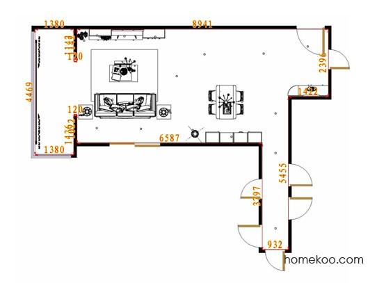 平面布置图贝斯特系列客餐厅G13454