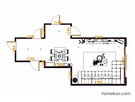 平面布置图乐维斯系列客餐厅G13626