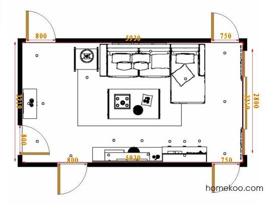 平面布置图格瑞丝系列客餐厅G14403