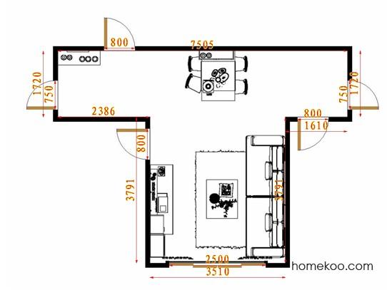 平面布置图乐维斯系列客餐厅G14503