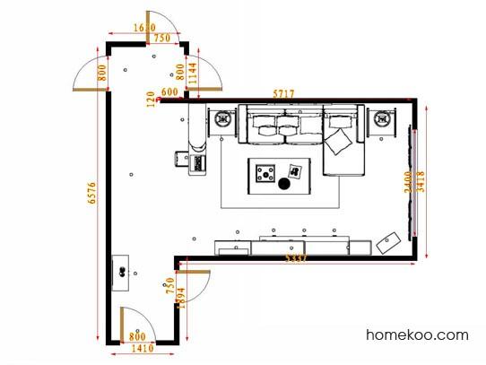平面布置图乐维斯系列客餐厅G14580