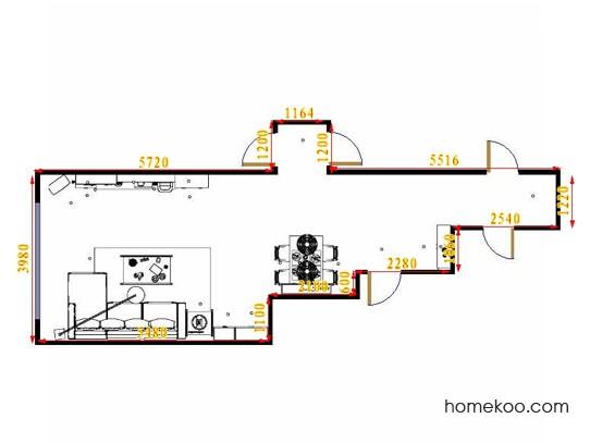 平面布置图乐维斯系列客餐厅G14696