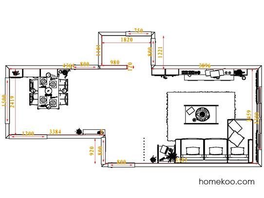 平面布置图乐维斯系列客餐厅G6683