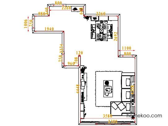 平面布置图乐维斯系列客餐厅G6775