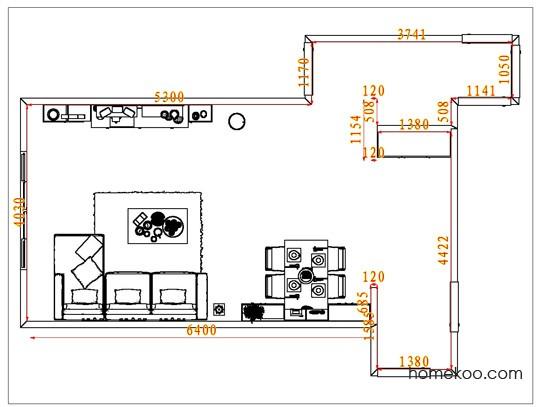 平面布置图柏俪兹系列客餐厅G6782