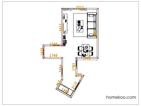 平面布置图贝斯特系列客餐厅G6783