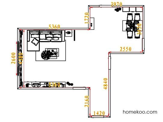 平面布置图乐维斯系列客餐厅G6817
