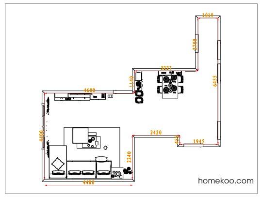 平面布置图乐维斯系列客餐厅G6846