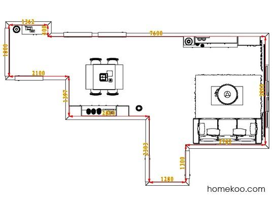 平面布置图乐维斯系列客餐厅G6880