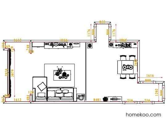 平面布置图乐维斯系列客餐厅G6940