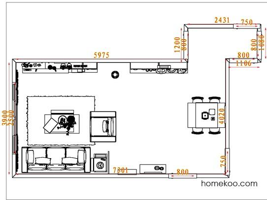 平面布置图乐维斯系列客餐厅G7161