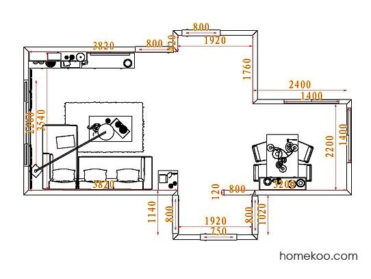 平面布置图乐维斯系列客餐厅G7211