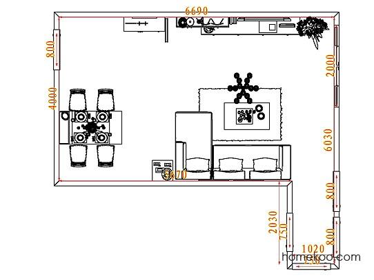 平面布置图乐维斯系列客餐厅G7212