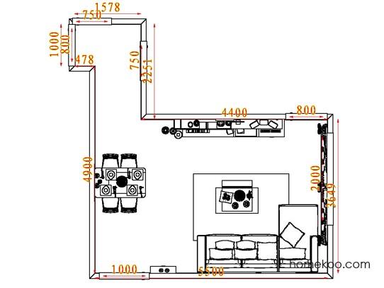 平面布置图乐维斯系列客餐厅G7227