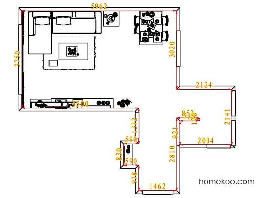 平面布置图柏俪兹系列客餐厅G7238
