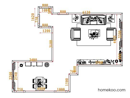 平面布置图乐维斯系列客餐厅G7377