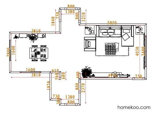 平面布置图格瑞丝系列客餐厅G7382