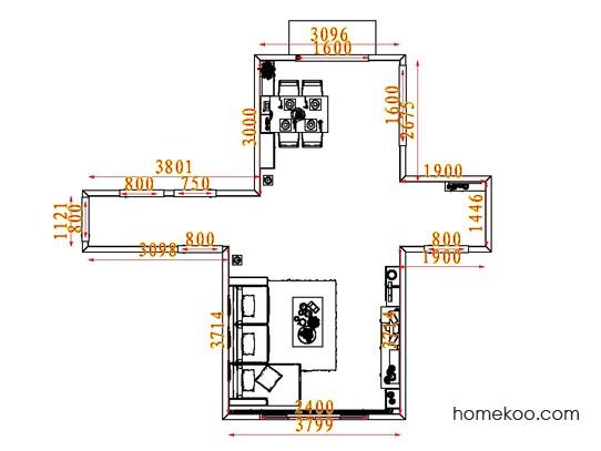 平面布置图乐维斯系列客餐厅G7471