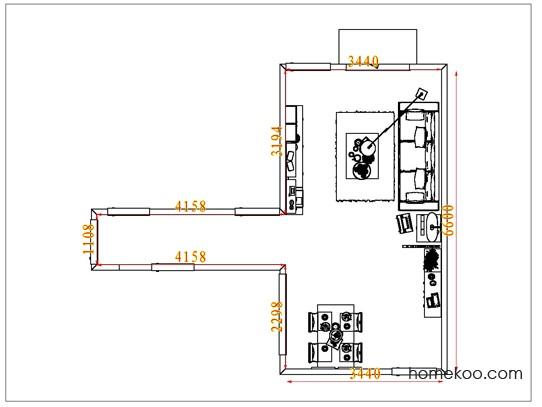 平面布置图贝斯特系列客餐厅G7482