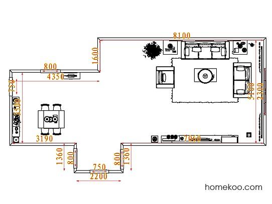 平面布置图乐维斯系列客餐厅G7510