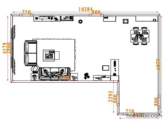 平面布置图格瑞丝系列客餐厅G7522