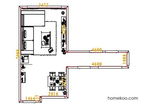 平面布置图乐维斯系列客餐厅G7640