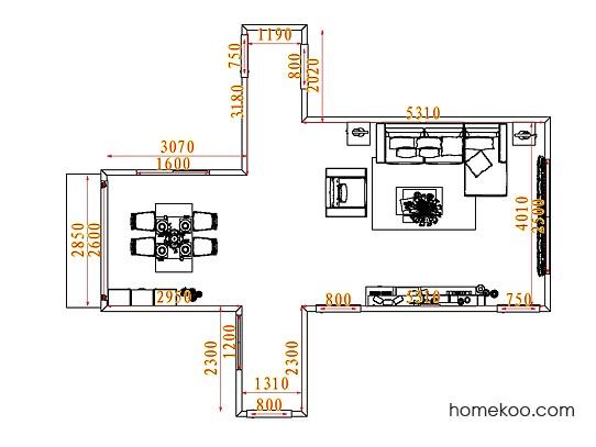 平面布置图乐维斯系列客餐厅G7697