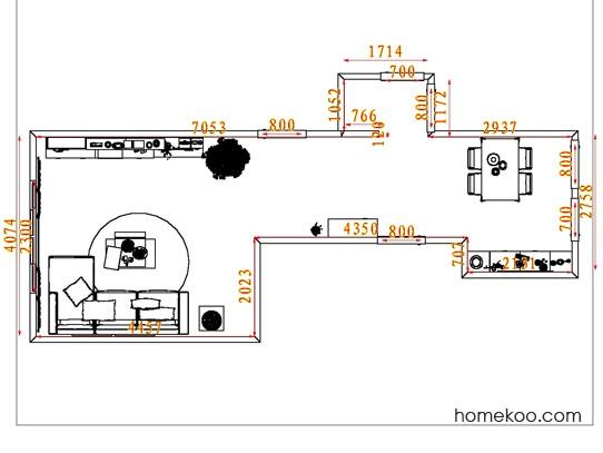 平面布置图格瑞丝系列客餐厅G7742