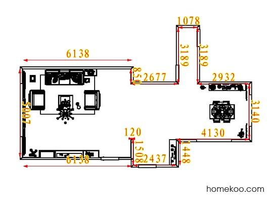 平面布置图乐维斯系列客餐厅G7841
