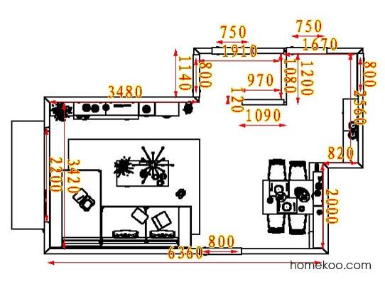 平面布置图乐维斯系列客餐厅G8073