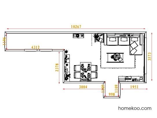 平面布置图格瑞丝系列客餐厅G8200