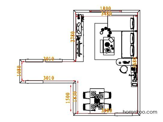 平面布置图乐维斯系列客餐厅G8205