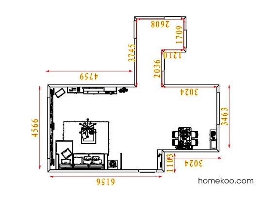 平面布置图乐维斯系列客餐厅G8216