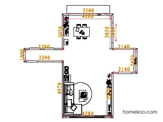 平面布置图乐维斯系列客餐厅G8273