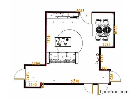 平面布置图贝斯特系列客餐厅G10626