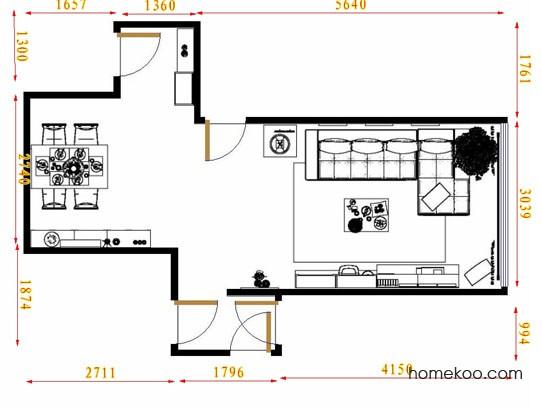 平面布置图乐维斯系列客餐厅G10833
