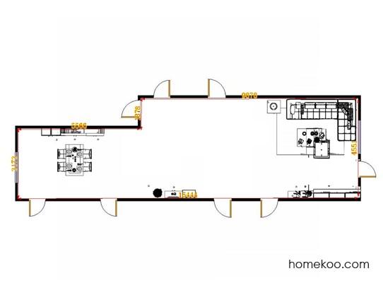 平面布置图格瑞丝系列客餐厅G11140
