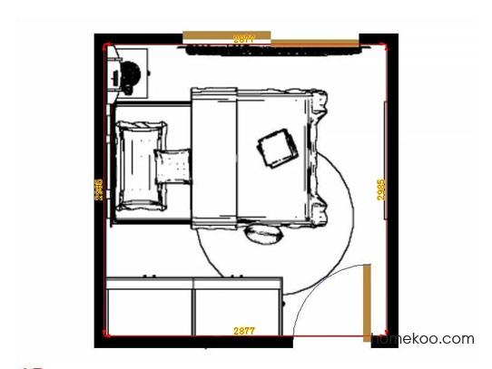 平面布置图格瑞丝系列青少年房B11432