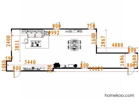 平面布置图乐维斯系列客餐厅G13292