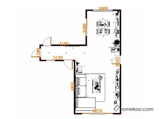 平面布置图贝斯特系列客餐厅G13425
