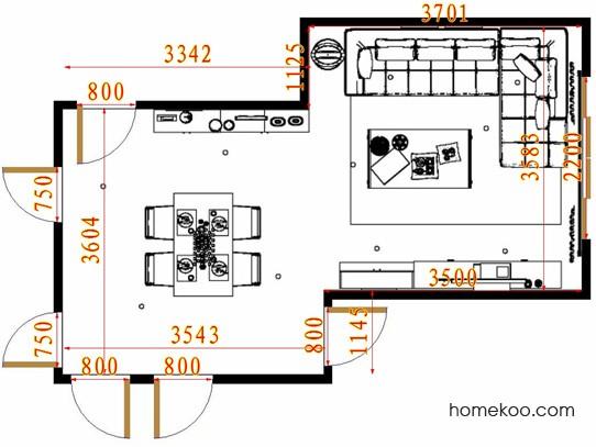 平面布置图贝斯特系列客餐厅G13438