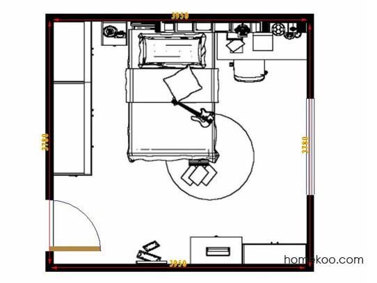 平面布置图柏俪兹系列青少年房B11977
