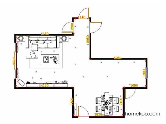 平面布置图乐维斯系列客餐厅G14399