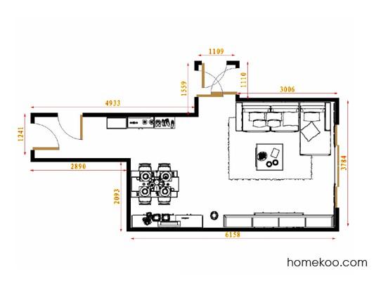 平面布置图乐维斯系列客餐厅G15446