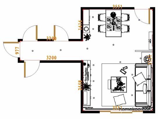 平面布置图贝斯特系列客餐厅G15450