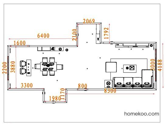 平面布置图柏俪兹系列客餐厅G15632