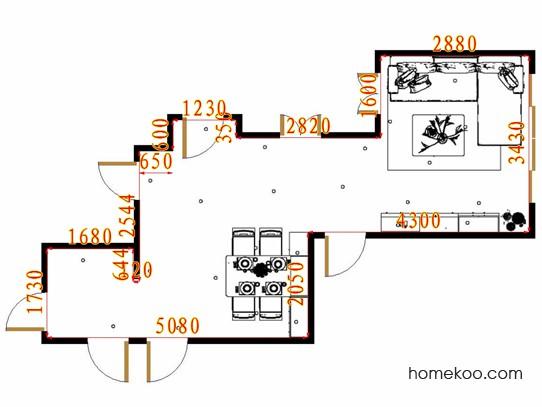 平面布置图乐维斯系列客餐厅G16434