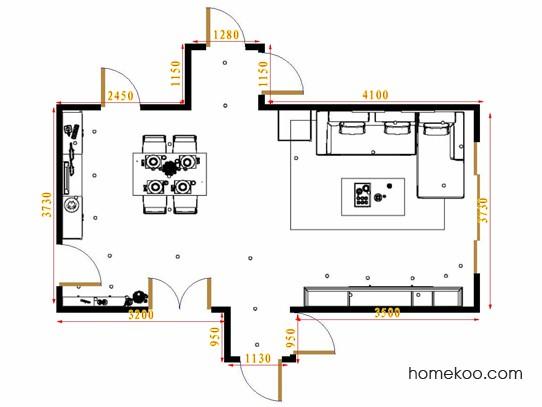 平面布置图乐维斯系列客餐厅G16477
