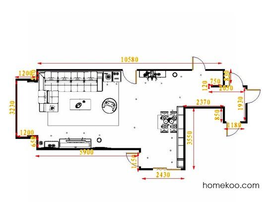 平面布置图乐维斯系列客餐厅G16501